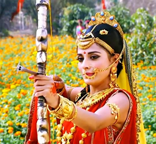 Draupadi bow and arrow