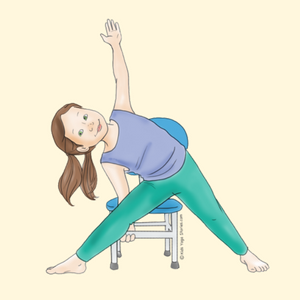 giselle shardlow's blog  40 kidfriendly chair yoga poses