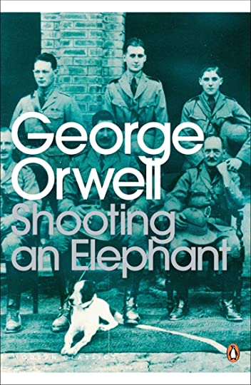 conformity in shooting an elephant a short story by george orwell With reference to ideas presented in the short story 'eveline' by james joyce and colm toibin's brooklyn, it remains quite a metaphorical phenomenon when related to george orwell's 'shooting an elephant.