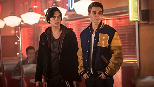 Jughead and Archie on Riverdale