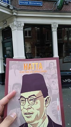 Lokasi bekas toko buku De Westerboekhandel di Nieuwe Binnenweg