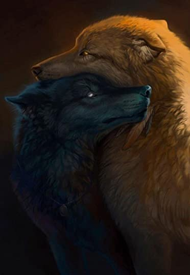 two wolves: