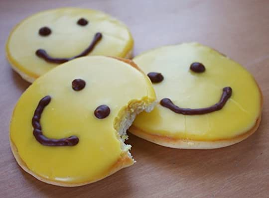 smiley face cookie: