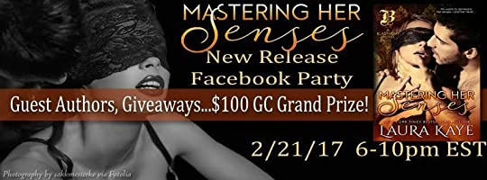 MASTERING HER SENSES - FB party graphic