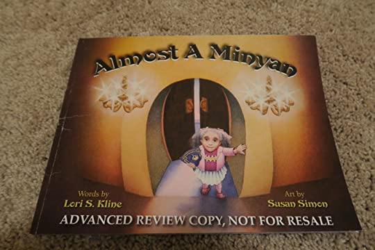 Almost a Minyan: Jewish Children's Book Review (A Coming-of-Age Story of a 13 Year-old Hebrew Girl, Dealing with Her Grandfather's Death)
