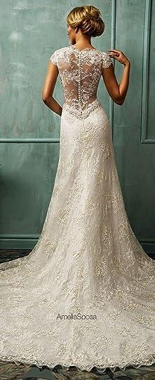 beautiful wedding dress: