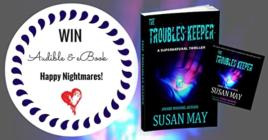 Susan mays blog susan may official website page 3 another in march until the 31st for you to win a copy of my ebook and audible of the troubles keeper the more you share the more entries you receive fandeluxe Image collections