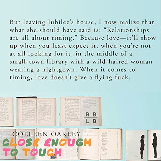 Teaser - Close Enough to Touch by Colleen Oakley