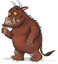 the gruffalo by julia donaldson forest animal clip art for kids forest animal clipart black