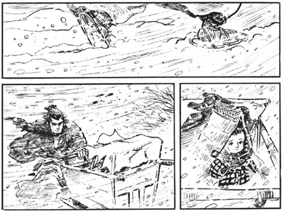 Lone wolf and cub sex scenes