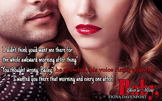 Baby You're Mine - Fiona Davenport: