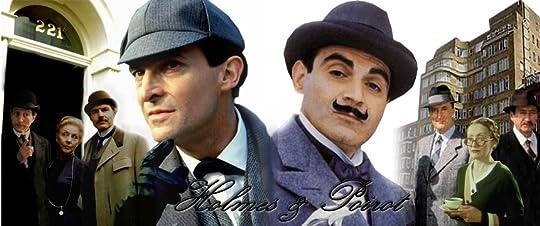 Sherlock Holmes and Hercule Poirot