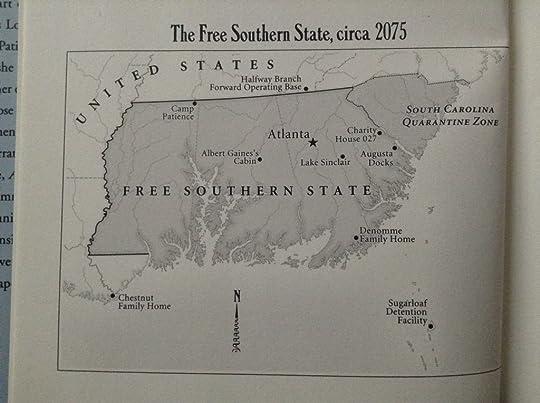 Nicks Review Of American War - Dystopian us map