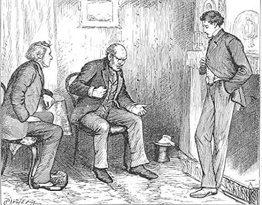 the portrayal of father figures mentors and patrons in the great expectations It was only when dickens's great-grandmother died and left his father money that his his portrayal of maternal figures—in closure in great expectations.