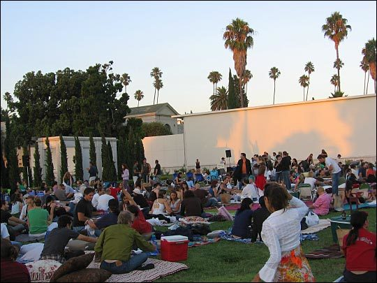 Image result for hollywood forever cemetery events