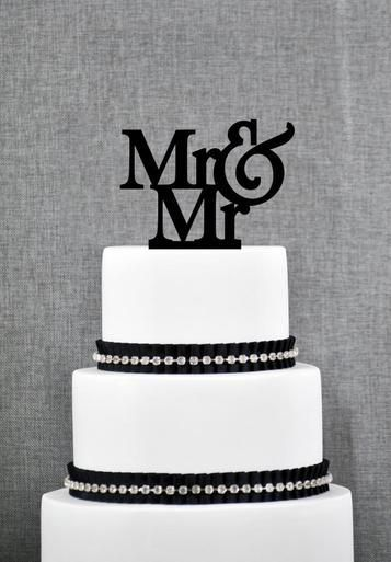 Heather and axel wedding cakes