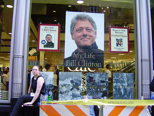Bill Clinton Book-Signing