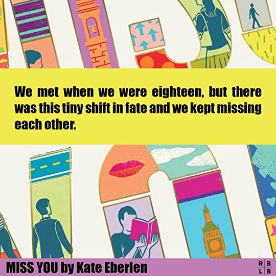 Cover-Miss You by Kate Eberlen