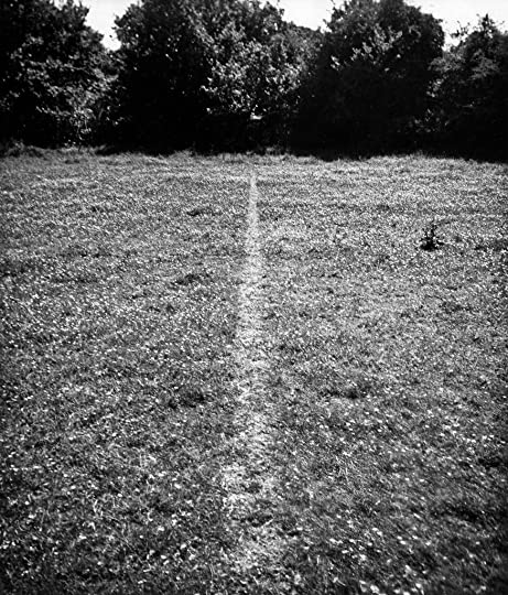 Line Made By Walking - Richard Long