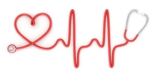 heart shaped stethoscope: