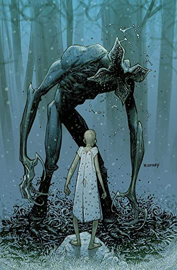 Demogorgon and Eleven