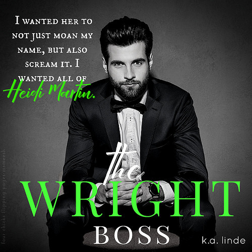 #TheWrightBoss