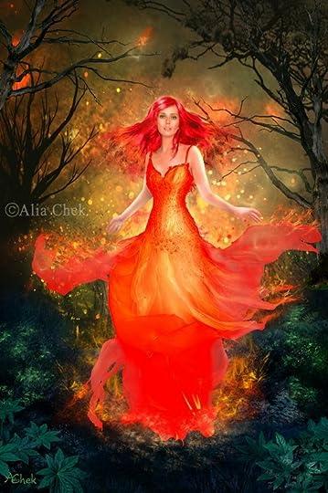 goddess of fire:
