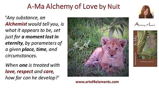 Ama Alchemy of Love Quote by Nataša Pantović Nuit
