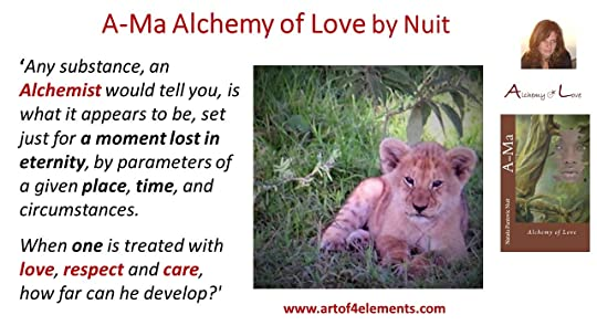 Ama Book Quote about Alchemy and Evolution of Consciousness