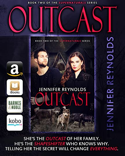 Jennifer Lynn Reynolds's Blog - Outcast is now available ...