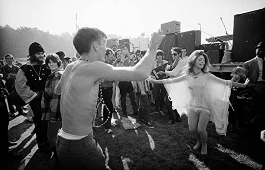 Part of the happy, blissed-out crowd at the Human Be-In in 1967, the event that kicked off the Summer of Love