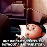 Image result for bed time story gif pictures