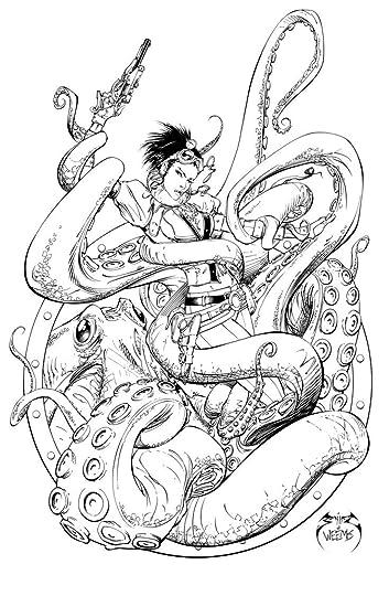 lady mechanika steampunk coloring book by joe benítez