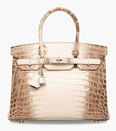 180c0f00fb Himalaya Birkins get their name from the bag s color
