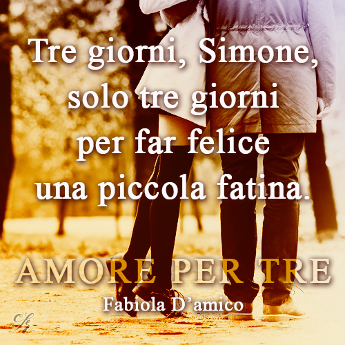 Amore per tre Cupido Agency Fabiola D'Amico