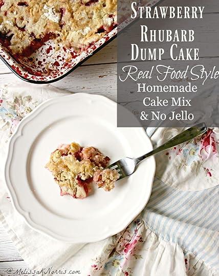 Strawberry Rhubarb Dump Cake Without Jello
