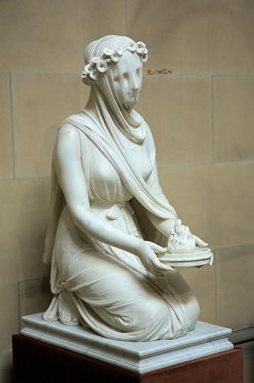 A Veiled Vestal Virgin, Chatsworth, England