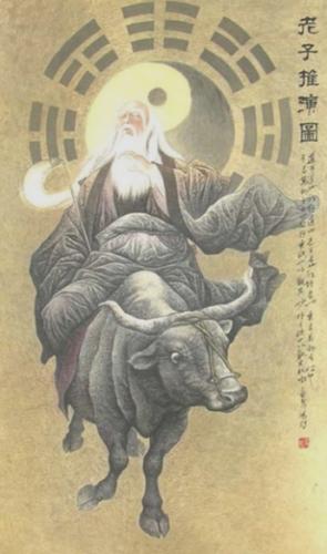 Laozi on Ox