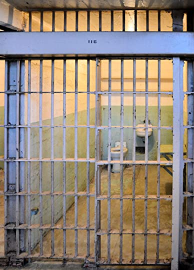 Prison cell on Alcatraz Island, San Francisco, California