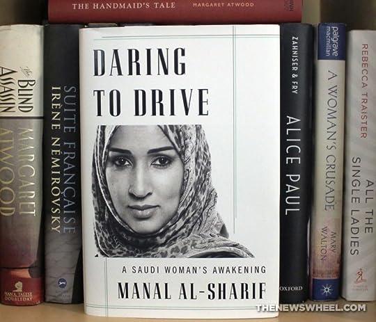 Daring to Drive on a full bookshelf