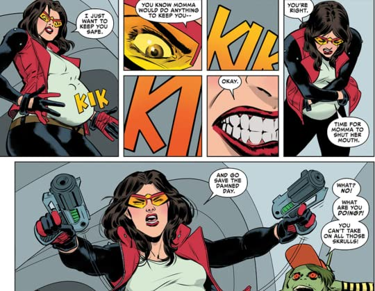 Image result for spider woman and baby