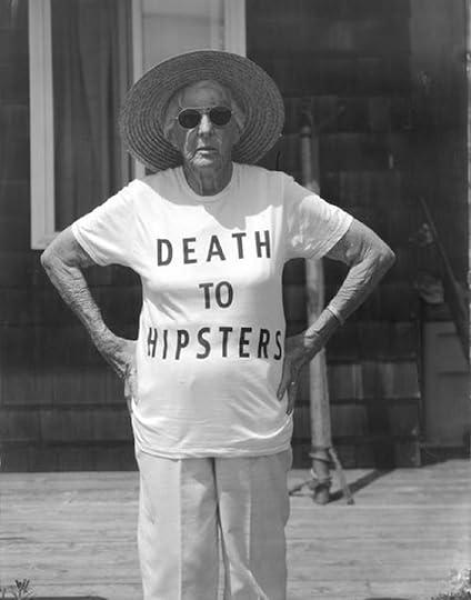 old badass hipster