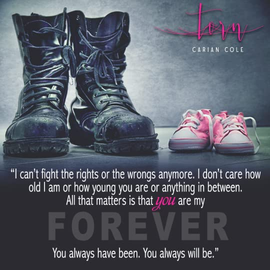 Torn (All Torn Up, #1) by Carian Cole