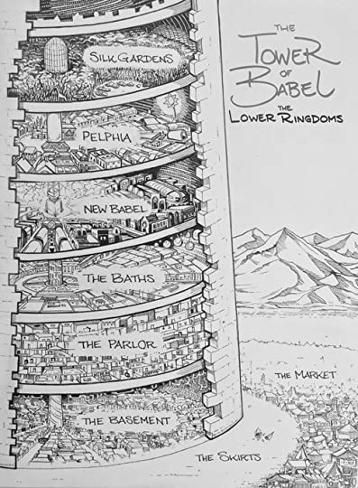 Hasil gambar untuk holding a sword AGAINST GOD AT TOP TOWER OF BABEL