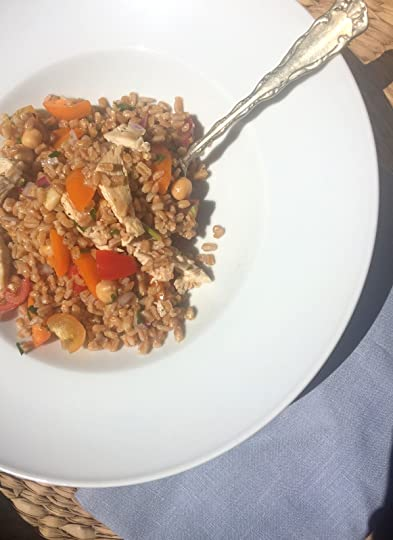 Shannon Ables's Blog - Farro Salad with Tomatoes, Herbs ...