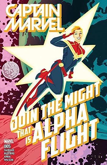 Captain Marvel, Vol  1: Rise of Alpha Flight by Michele Fazekas