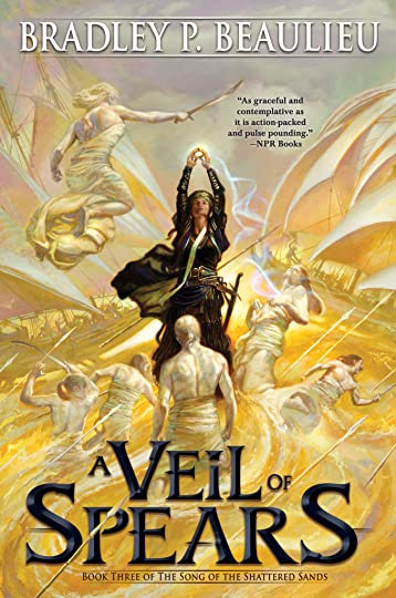 Veil of Spears front cover