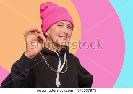 https://thumb9.shutterstock.com/display_pic_with_logo/2509978/573637975/stock-photo-an-old-woman-with-a-cool-ctyle-showing-a-positive-gesture-grandmom-says-it-will-be-alright-orange-573637975.jpg