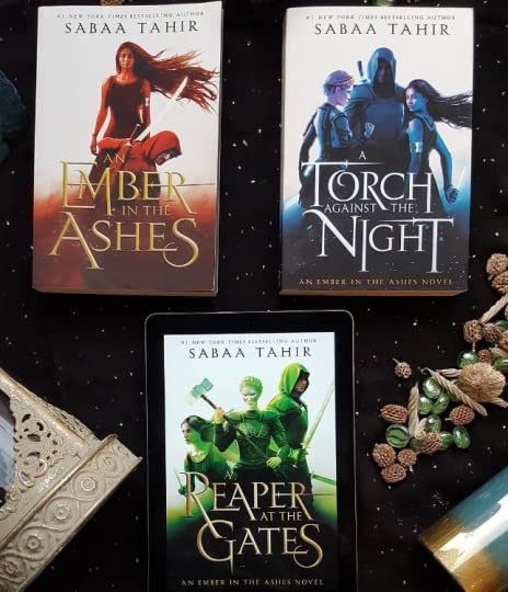 Cover Geek 1 An Ember In The Ashes Series By Sabaa Tahir
