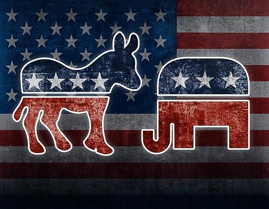 Image result for republican vs democratic symbol